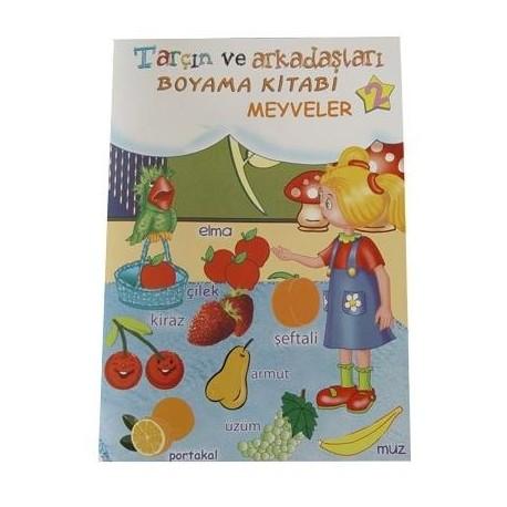 Tarçın Boyama Kitabı 2