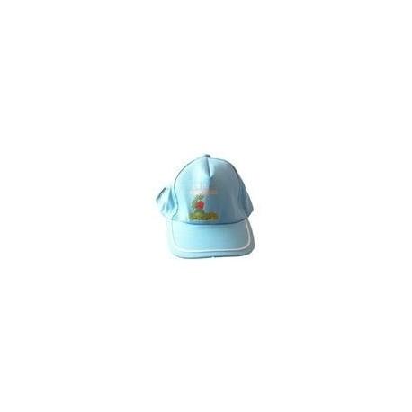 Kakule Baskılı Şapka (Mavi)