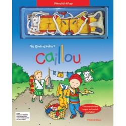 Caillou Mıknatıslı Kitap