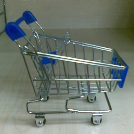 Alışveriş Arabası (Mumluk,Resimlik vs.) Mavi