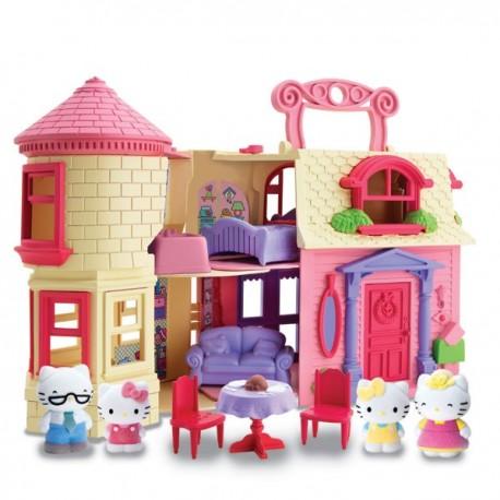 Hello Kitty Mutlu Evim Oyun Seti