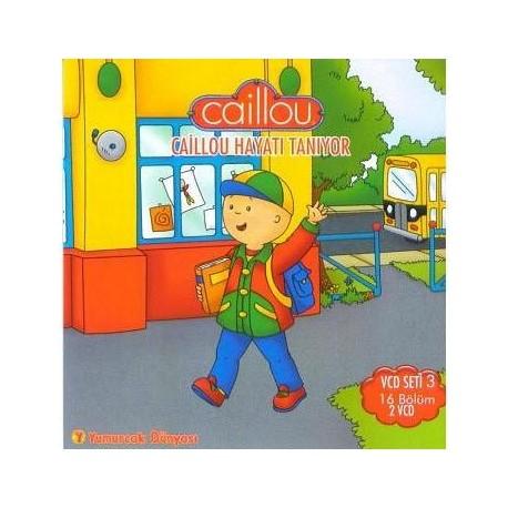 Caillou Vcd 3 - Hayatı Tanıyor (16 Bölüm)