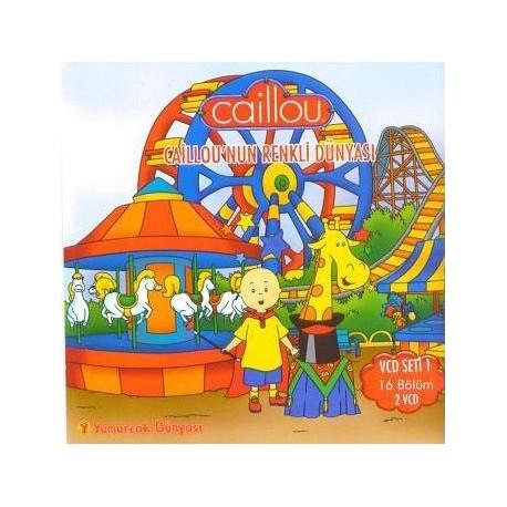 Caillou Vcd 1 - Renkli Dünyası (16 Bölüm)