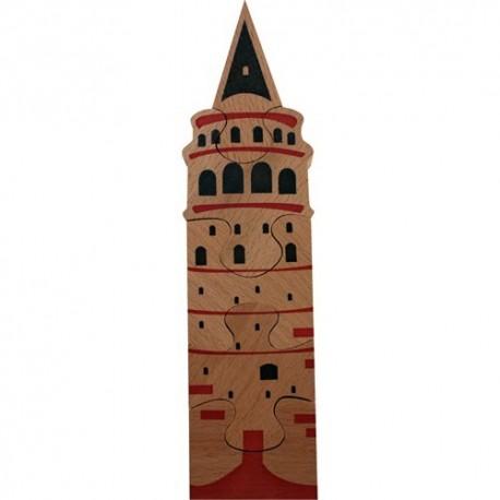 Ahşap Kız Kulesi Puzzle