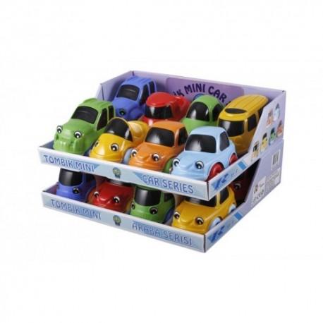 Tombik Mini Araba Serisi - Standlı