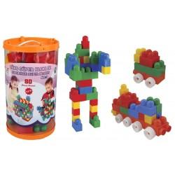 Pilsan Lüx Süper Bloklar 3 80 parça