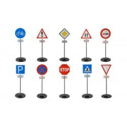 Ayaklı Trafik İşaretleri Seti