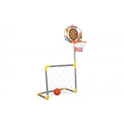 Pilsan Basketbol Dart ve Futbol Seti