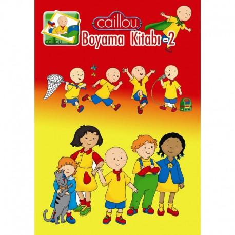 Caillou Boyama Kitabı -2