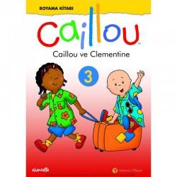 Caillou Boyama Kitabı -3