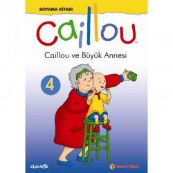 Caillou Boyama Kitabı -4