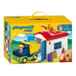 Play Mobil Garaj İle Kamyon