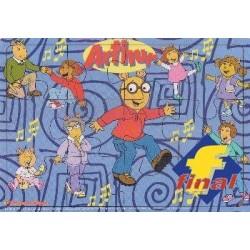 Arthur Ahşap Yapboz (küçük)