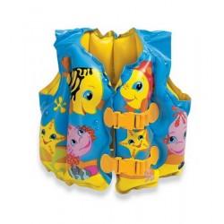 İntex Balık Desenli Şişme Çocuk Can Yeleği  59661