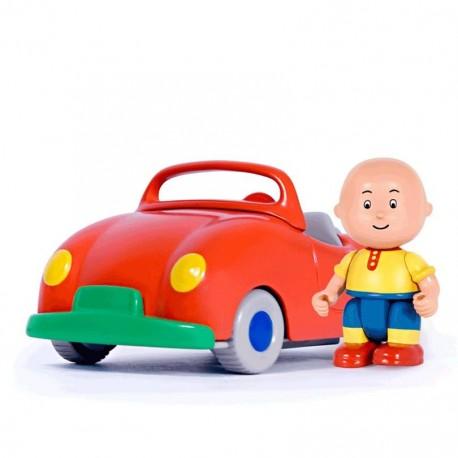 Caillou Kurmalı Kırmızı Araba