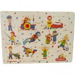 Caillou Karton Puzzle -2 (Meslekler)