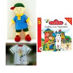 Caillou Şarkı Söyleyen Bebek Seti (45cm)