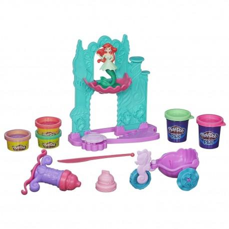 Play-Doh Ariel'in Şatosu ve Arabası