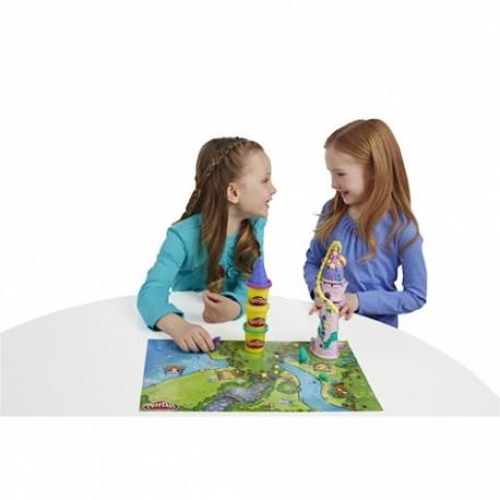 Play-Doh Rapunzel'in Kulesi