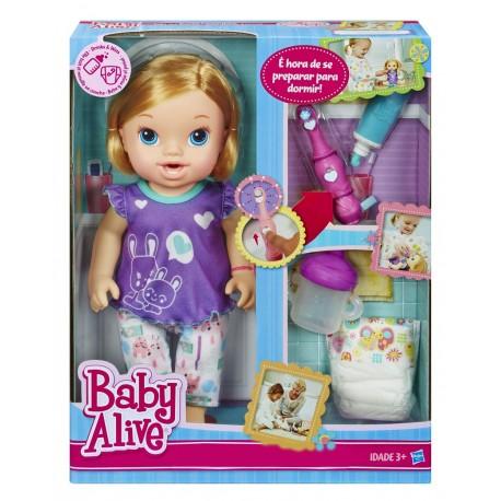 Baby Alive Diş Fırçalayan Bebeğim