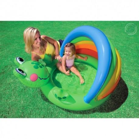 İntex Gölgelikli Kurbağa Bebek Havuzu 57416
