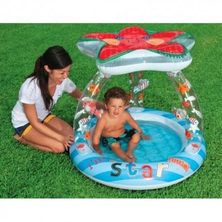 İntex Yıldız Gölgelikli Bebek Havuzu 57428