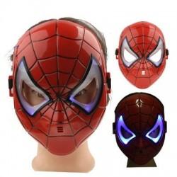 Spiderman Maske  Işıklı Spider-Man Maske
