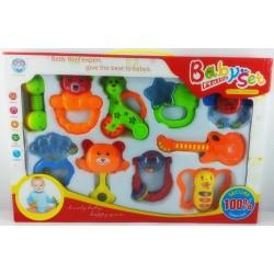 Bebek Çıngırak Seti 10 Parça