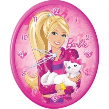 Barbie Duvar Saati