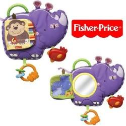 Fisher Price Sevimli Rino Yumuşak Kitap