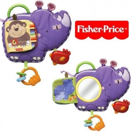 Fisher Price Sevimli Rino Yumuşak Kitap T9238