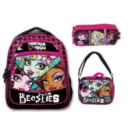 Monster High Okul Çanta Seti