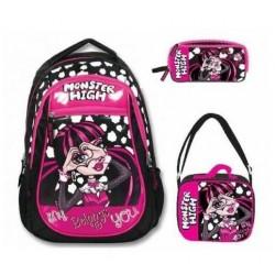 Monster High Okul Çanta Seti 2
