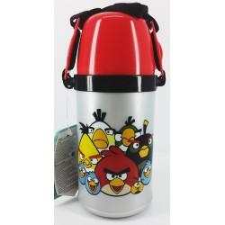 Angry Birds Bardaklı Plastik Matara