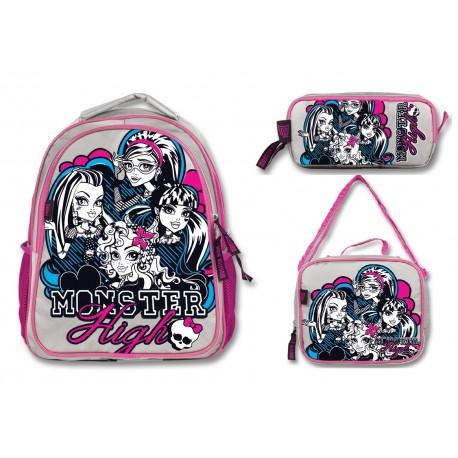 Monster High Okul Çanta Seti 6