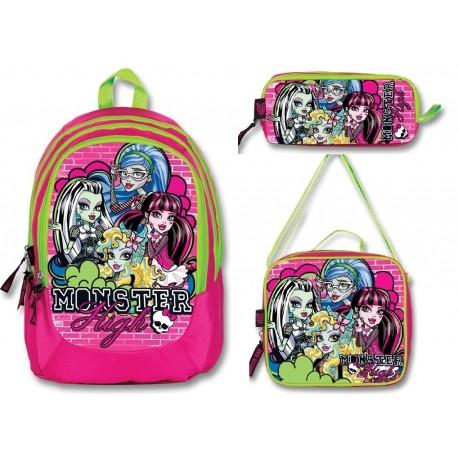 Monster High Okul Çanta Seti 7