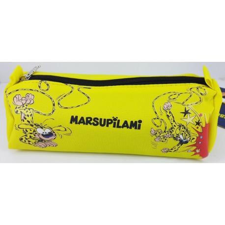 Marsupilami Kalem Çantası Sarı Tek Göz marsupilami kalemlik