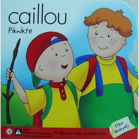 Caillou Hikaye Kitabı - Piknikte