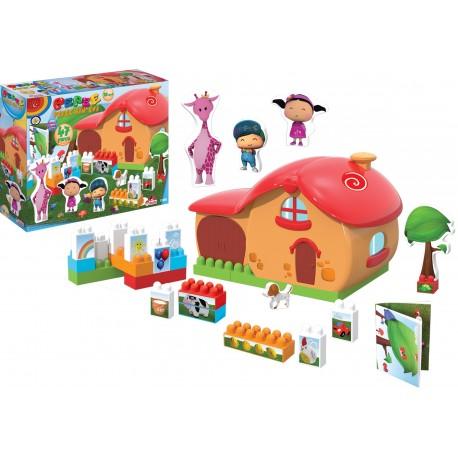 Pepeenin Evi Blokları 47 Parça 01860