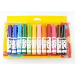 Playdoh 12 Renk Keçeli Kalem 8 mm