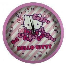 Lisanslı Hello Kitty Çocuk Odası Duvar Saati