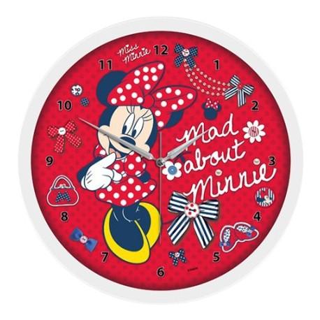 Lisanslı Minnie Mouse Çocuk Odası Duvar Saati