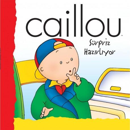 Caillou Hikaye Kitabı - Caillou Sürpriz Hazırlıyor