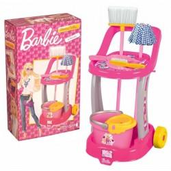 Barbie Temizlik Arabası Oyuncak Seti