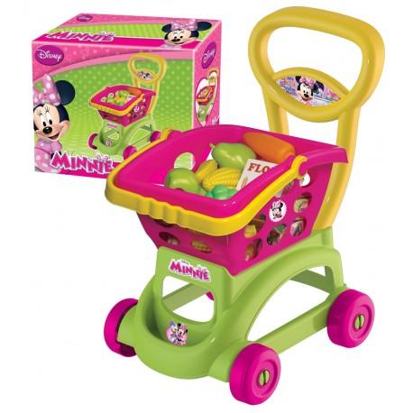 Minnie Mouse Oyuncak Sepetli Market Arabası 01973