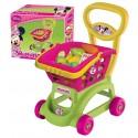 Minnie Mouse Oyuncak Sepetli Market Arabası