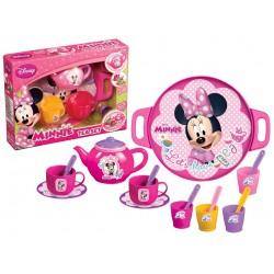 Minnie Mouse Çay Seti Tepsili Çay Seti