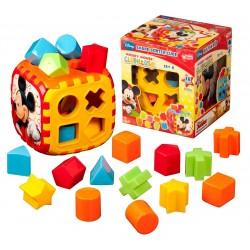 Mickey Mouse Bultak Küp Eğitici Oyuncak Bul Tak 01955