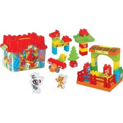 Tom Jerry Eğitici Oyuncak Kale Lego Seti 01838