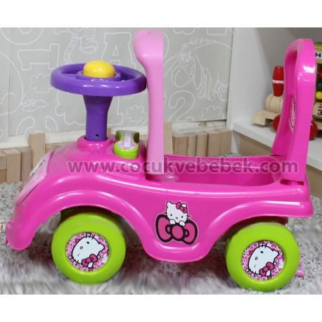 Hello Kitty Jumbo İlk Arabam - PEMBE